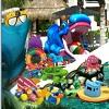 Niños Poolside objetos ocultos