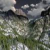 Paisaje de la montaña Jigsaw