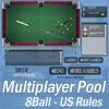 Multijugador 8Ball piscina