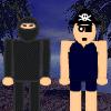 Ninjas Versus Pirates War