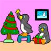 Pingüinos Nochebuena