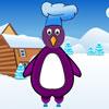 Pingüinos Polar banquetes