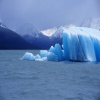 Glaciar Perito Moreno deslizante