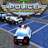 Coches de policía Aparcamiento