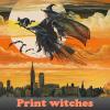 Brujas impresión 5 diferencias
