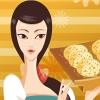 Pastel de arroz para los amantes
