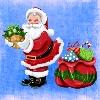 Para colorear Santa Claus
