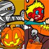 Scary colorear de Halloween