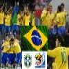 Selection of Brazil, Group G, South Africa 2010 Puzzle