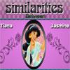 Similarities Tiana and Jasmine