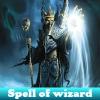 Hechizo de mago