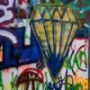Pintura de aerosol de imágenes ocultas