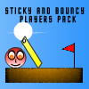Los jugadores Sticky And Bouncy Paquete