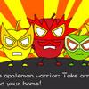 Súper Appleman insectos Crisit
