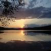 Puesta de sol deslizante sueco