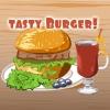 Sabrosa hamburguesa Cocinar