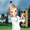 El juego del golfista Gilrs Dress Up