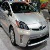 Toyota Prius deslizante