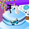 Pastel de boda decoración del partido