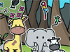 Crea una escena: Alegría de la selva