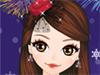 Fiesta de Año Nuevo Maquillaje