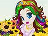 Girasol Princesa Peinados