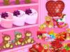 San Valentín tienda Decoración
